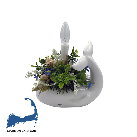 Whale Floral Night Light