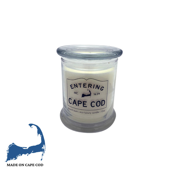 Entering Cape Cod Beach Bum Soy Candle