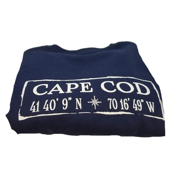 Cape Cod Long Sleeve T-Shirt Navy