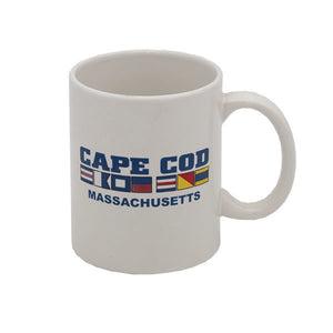Cape Cod Nautical Flag Mug