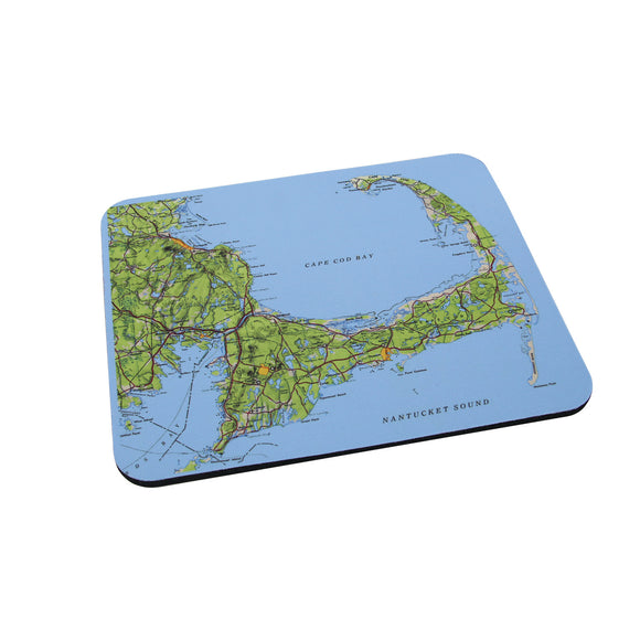 Cape Cod Map Mouse Pad