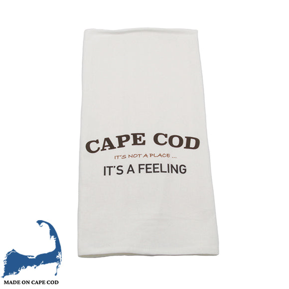 Cape Cod It's A Feeling Tea Towel