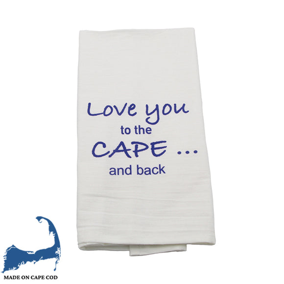Love You To The Cape and Back Tea Towel