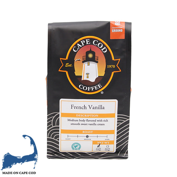 Cape Cod Coffee -  French Vanilla
