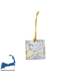 Cape Cod Map Ornament