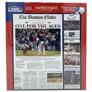 Boston Globe One For The Ages 550 Piece Puzzle