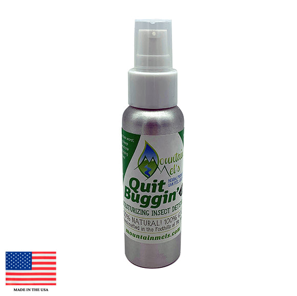 Mountain Mels Quit Buggin Insect Repellent