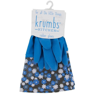 Blue Krumbs Kitchen Rubber Cleaning Gloves