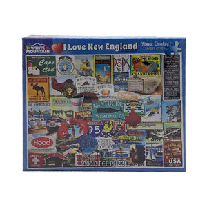 I Love New England 1000 Piece Puzzle