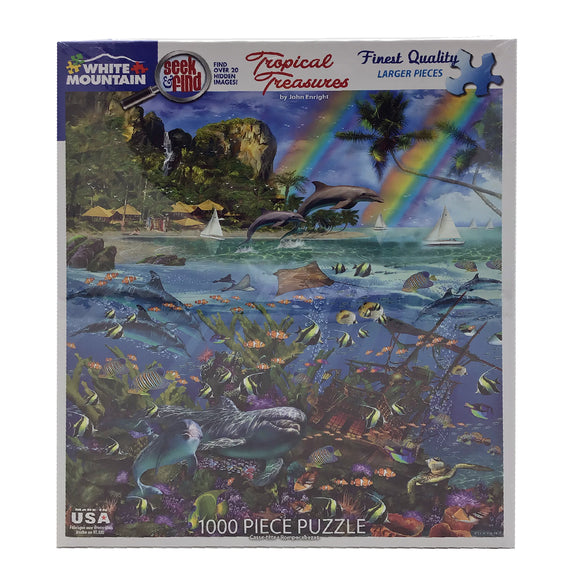 Tropical Treasures 1000 Piece Puzzle