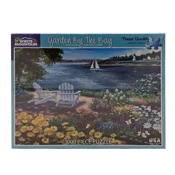 Garden By The Bay 1000 Piece Puzzle