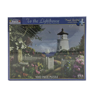 To The Lighthouse 1000 Piece Puzzle