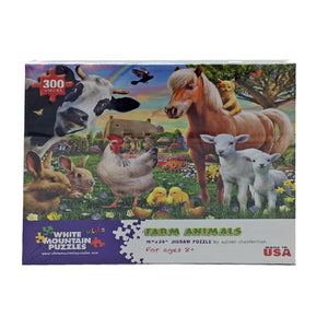 Farm Animals 300 Piece Puzzle