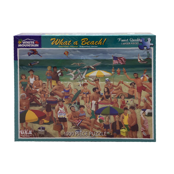What A Beach 1000 Piece Puzzle