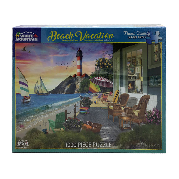 Beach Vacation 1000 Piece Puzzle