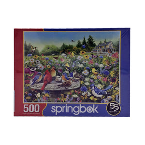 Birds & Butterflies 500 Piece Puzzle