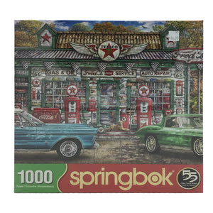 Texaco Gas Station 1000 Piece Puzzle