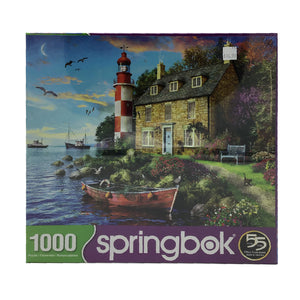 Coastal Lighthouse 1000 Piece Puzzle