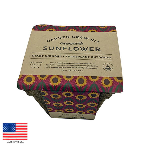 Mammoth Sunflower Garden Grow Kit
