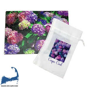 Purple Hydrangeas 120 Piece Puzzle