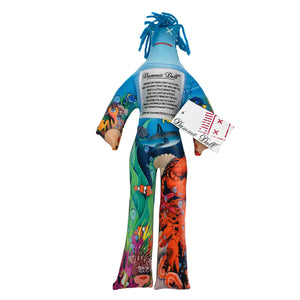 Ocean Themed Dammit Doll