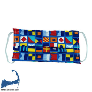 Nautical Flag  Pattern Cloth Face Mask