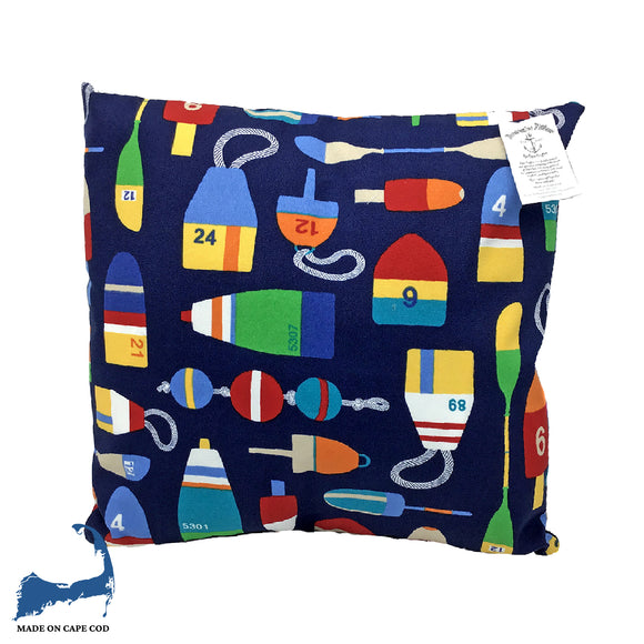 Nautical Flag Pattern Pillow