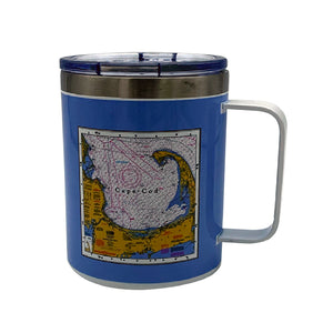 Cape Cod Nautical Chart Insulated Tumbler