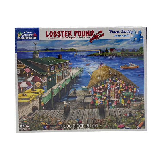 Lobster Pound 1000 Piece Puzzle