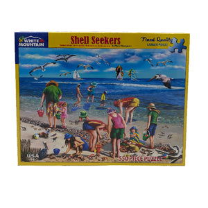 Shell Seekers 550 Piece Puzzle