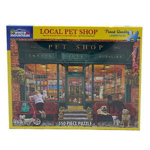 Local Pet Shop 550 Piece Puzzle