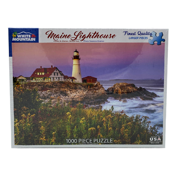 Maine Lighthouse 1000 Piece Puzzle