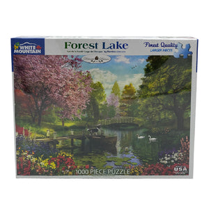 Forest Lake 1000 Piece Puzzle