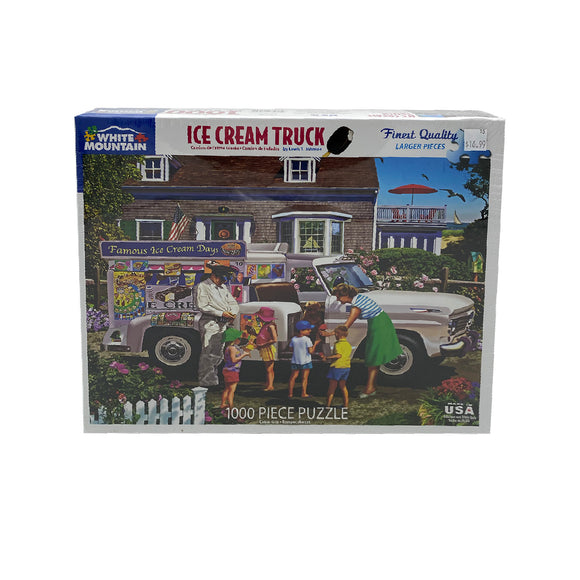 Ice Cream Truck 1000 Piece Puzzle