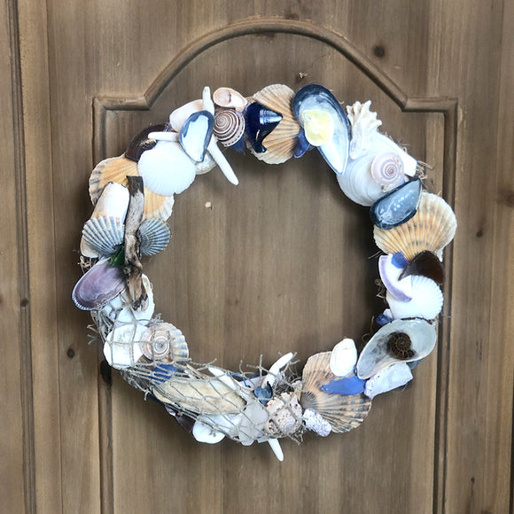 Hand Picked Coastal Wreath Large