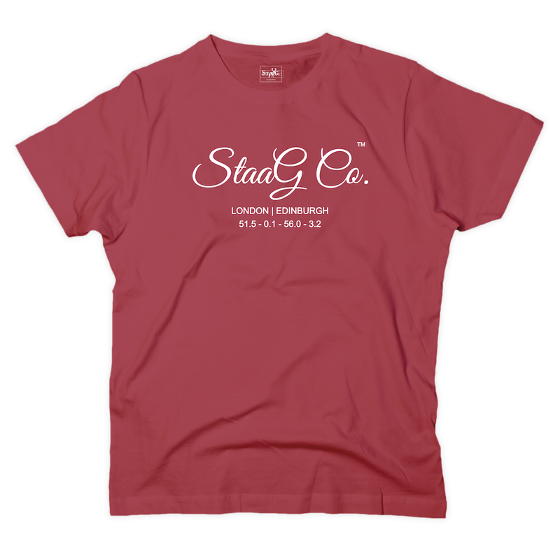 StaaG Co graphic red t-shirt - T-shirt - StaaG®