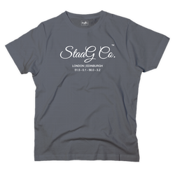 StaaG Co graphic charcoal t-shirt - T-shirt - StaaG®