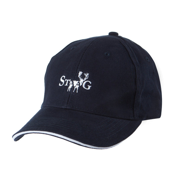 Classic navy cap with white trim - Cap - StaaG®