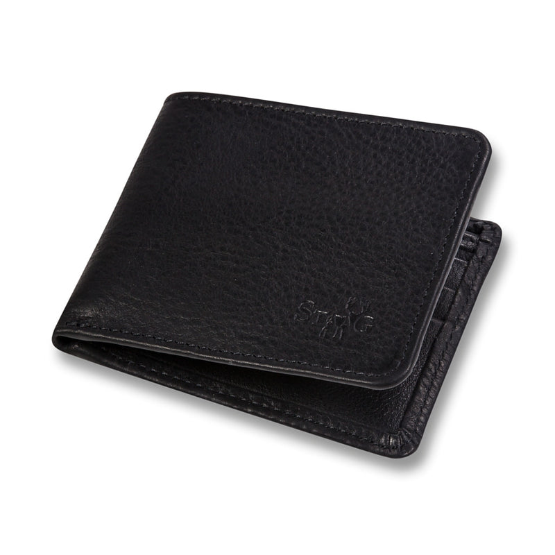 Cockburn black leather wallet - Leather wallet - StaaG®