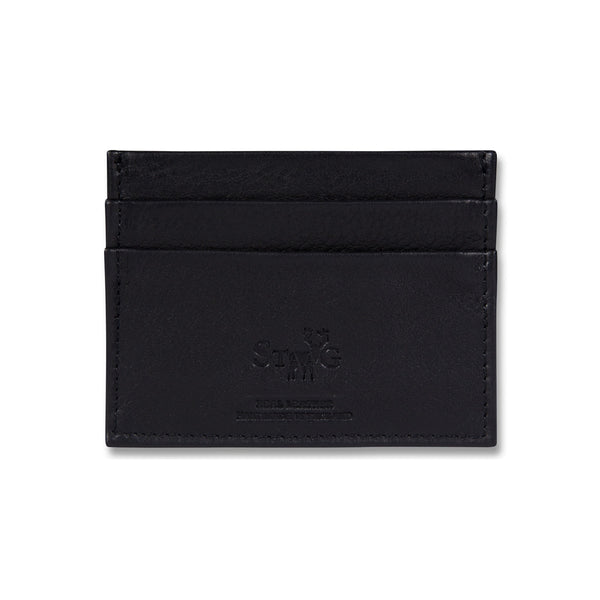 Cockburn black leather card holder