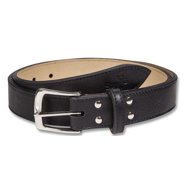 Cockburn black leather belt