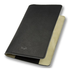 Cockburn black leather notebook cover - Leather notebook cover - StaaG® - 2