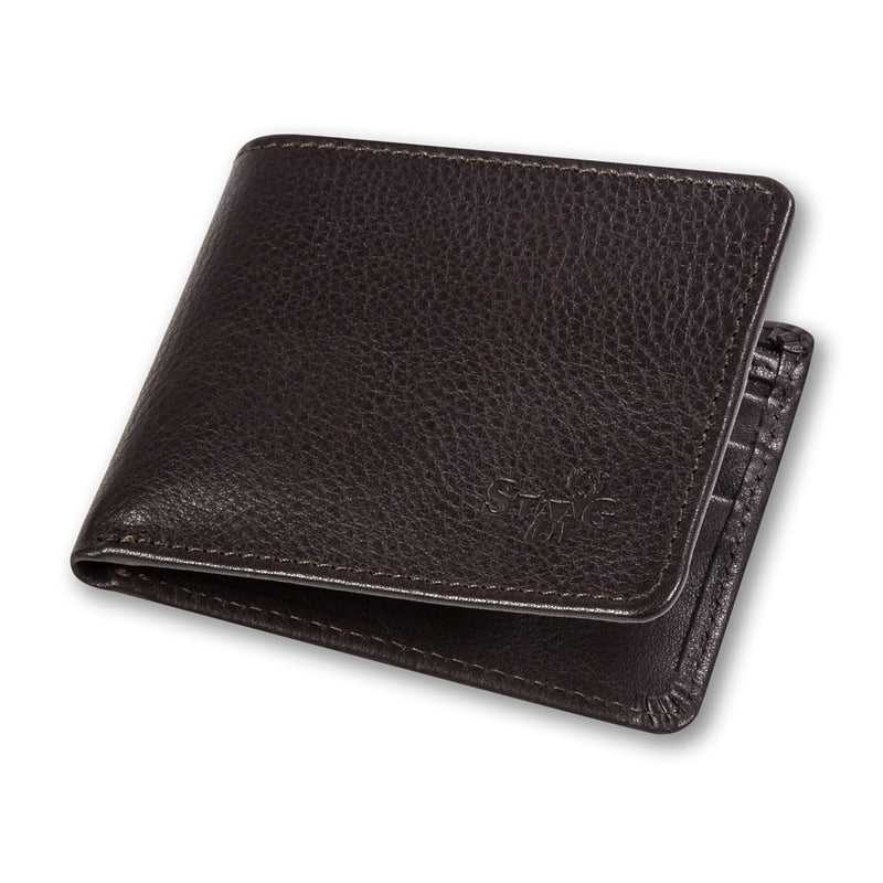 Connaught brown leather wallet - Leather wallet - StaaG®