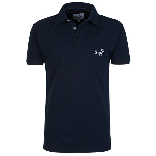Classic navy polo shirt - Polo shirt - StaaG® - 1