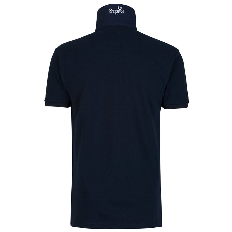 Classic navy polo shirt - Polo shirt - StaaG® - 2