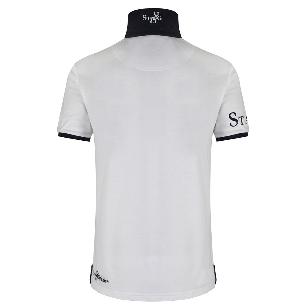 LXXVII Britain white polo shirt - Polo shirt - StaaG® - 2