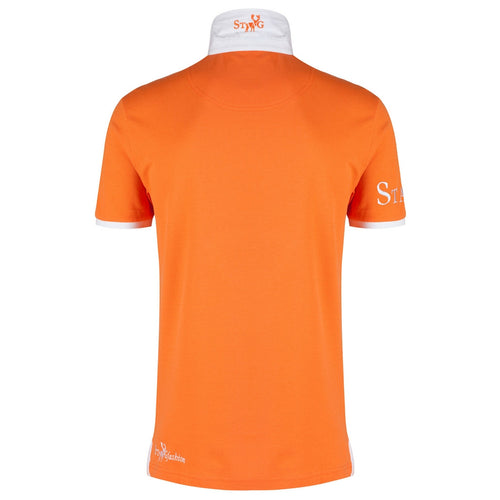 LXXVII NL orange polo shirt - Polo shirt - StaaG® - 2