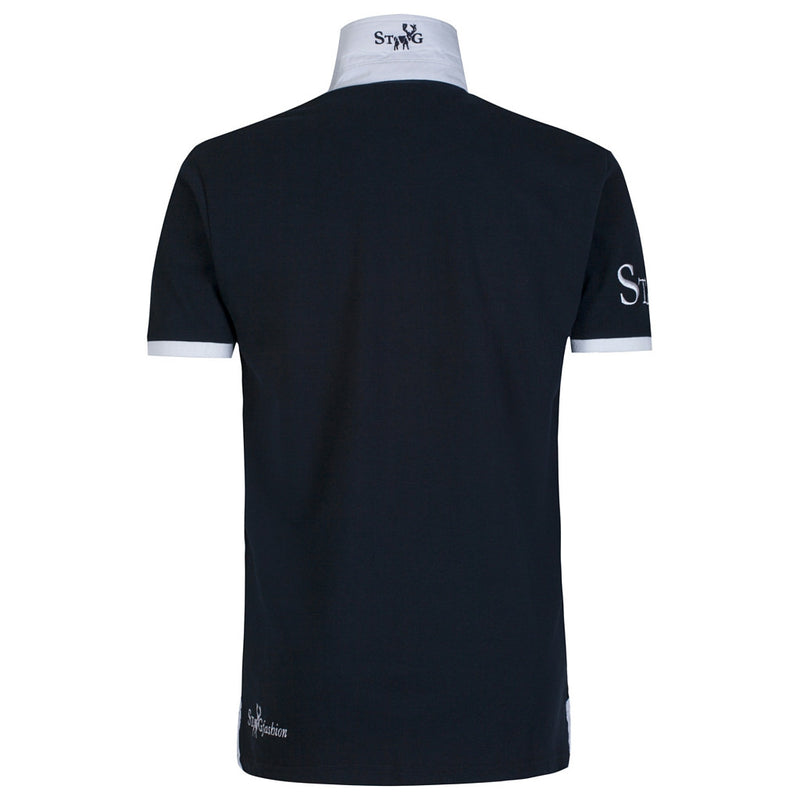 Weekend navy and white polo shirt - Polo shirt - StaaG® - 2