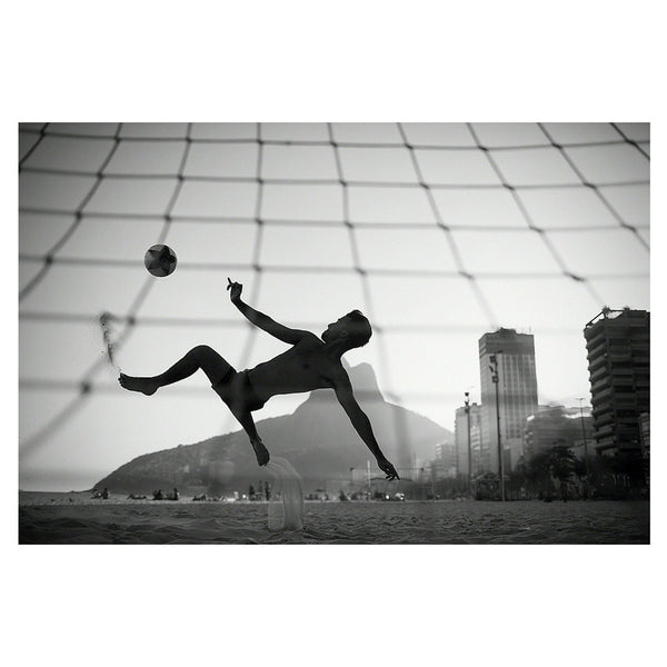Football on Ipanema beach
