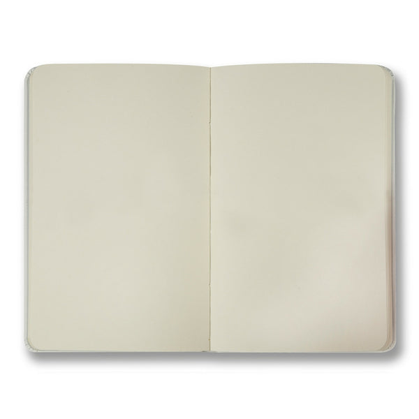 White soft touch plain notebook - Notebook - StaaG® - 2